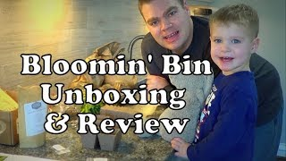 Bloomin' Bin ~ Garden Subscription Box Unboxing & Review ~ January 2018