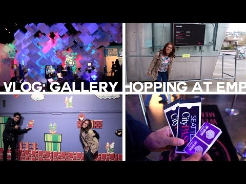 GALLERY HOPPING AT THE EMP MUSEUM