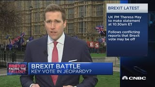 CNBC's Wilfred Frost reports on the latest updates of the Brexit ne...