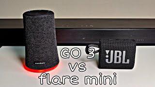#JBL Go 3 Vs ANKER Soundcore Flare Mini - Soundtest