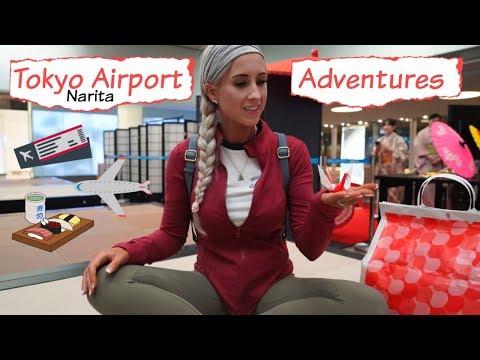 Tokyo Airport Adventures | Narita Airport Travel Vlog