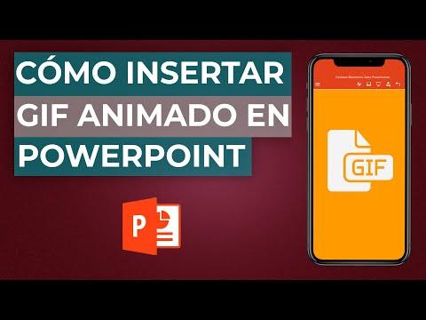 Cómo Insertar o Poner un GIF ANIMADO en Power Point - Guía Completa