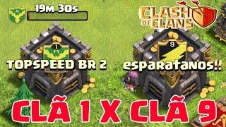 primeira guerra topspeed br 2 o que importa nvel ou qualidade dos jogadores cl 1 x cl 9