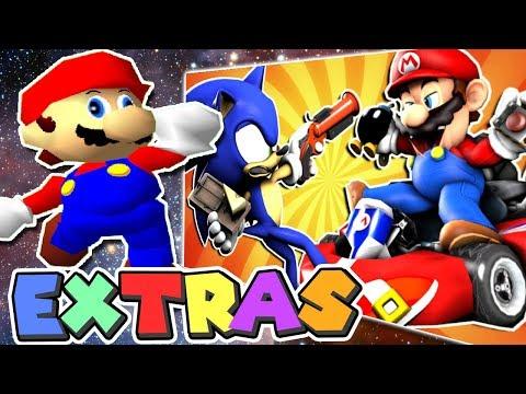 Mario's EXTRAS: Mario VS Sonic: PRANK BATTLE
