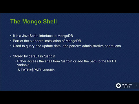 MongoDB Shell in a Primer