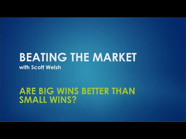 Are Big Wins Better Than Small Wins?