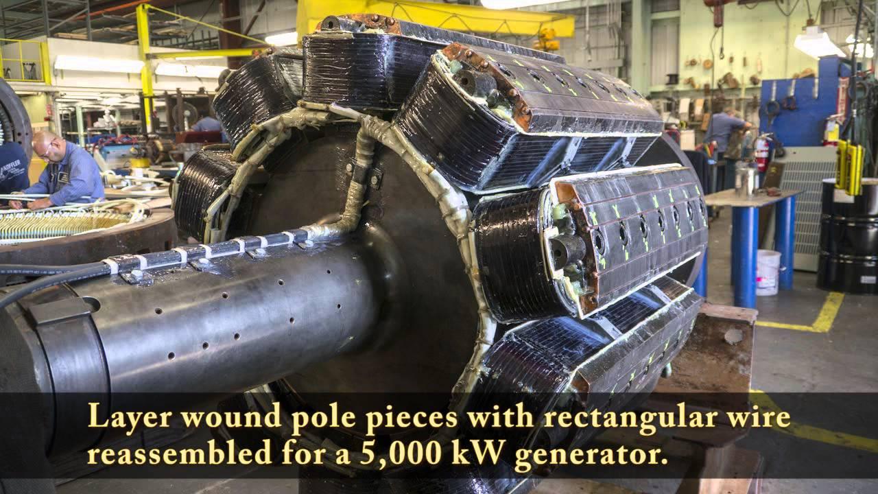 100 Hp Electric Motor Wiring Diagram Motor Rewinding And Re Manufacturing At Koffler Youtube