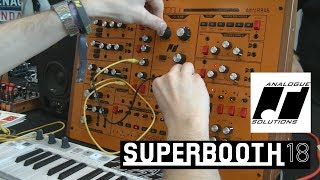 Analogue Solutions - FuseBox - аналоговый полумодульный синтезатор (Superbooth18)