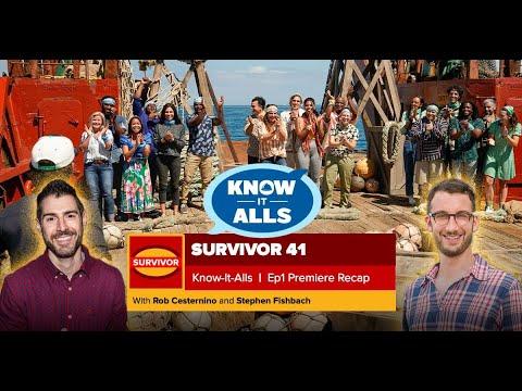 Survivor Season-Premiere Recap: Come On In!