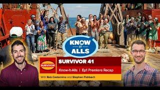 Survivor 41 Know-It-Alls | Premiere Recap