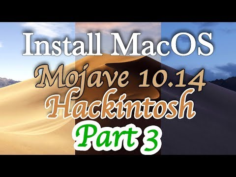 Install MacOS Mojave Hackintosh   How to Load CLOVER