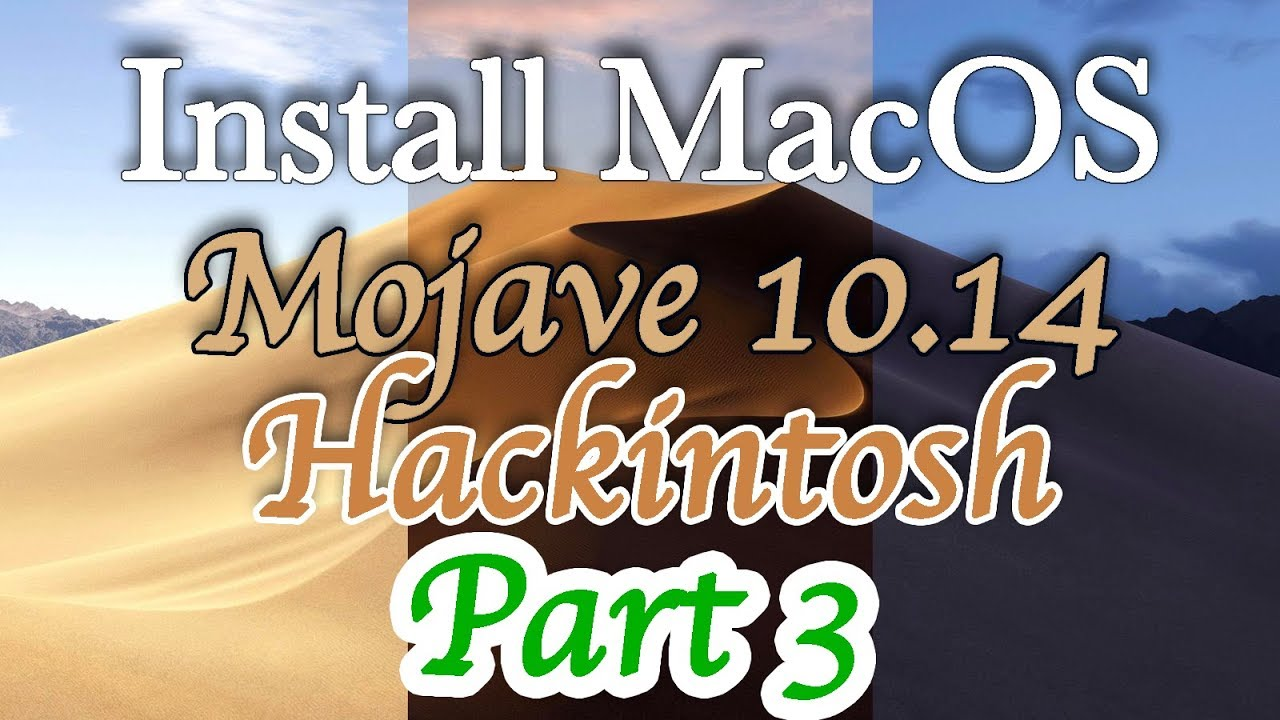 Install MacOS Mojave Hackintosh | How to Load CLOVER Bootloader | Step by  Step | Part 3