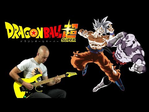 Dragon Ball Super - ULTIMATE BATTLE - guitar cover