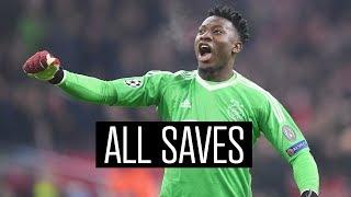 ALL SAVES - Andre Onana 2018/2019