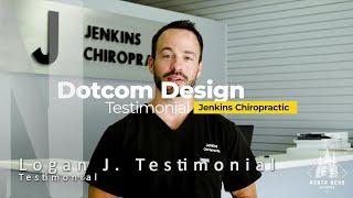 Dotcom Design Testimonials - Logan Jankins