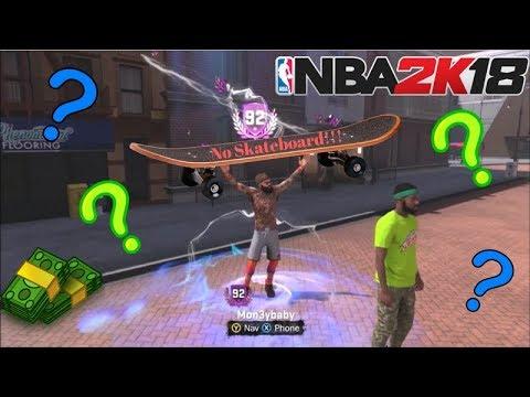 92 OVERALL NO SKATEBOARD!! + SHOT CREATING POST SCORER HIGHLIGHTS NBA 2K18