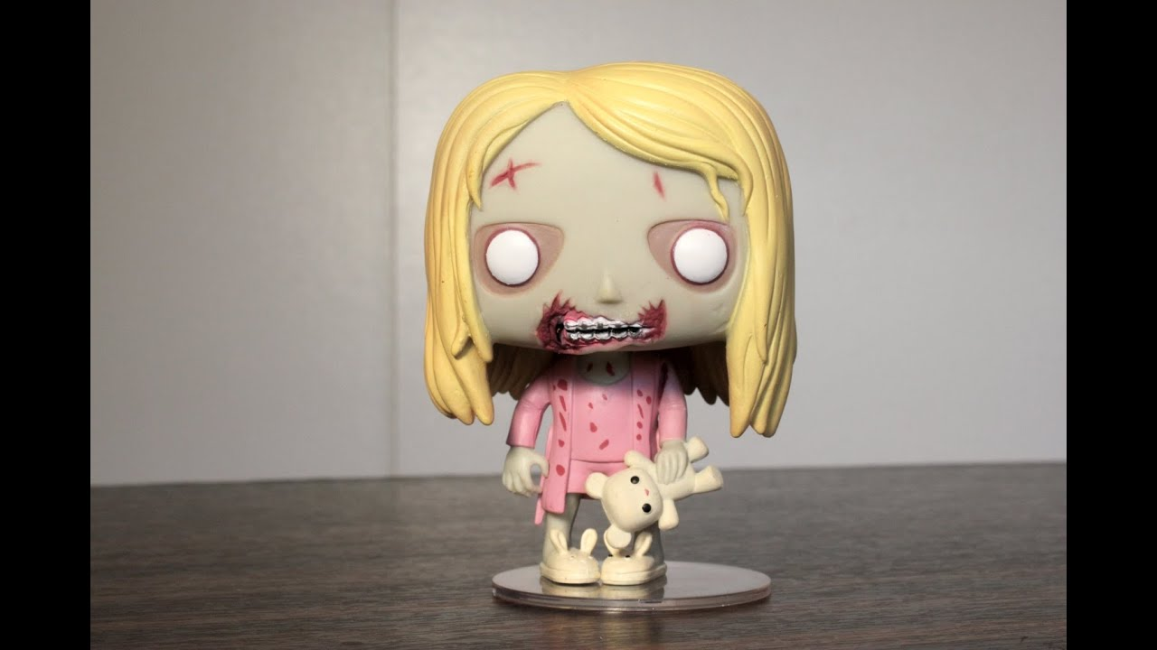 Teddy Bear Girl The Walking Dead Funko Pop Review Youtube