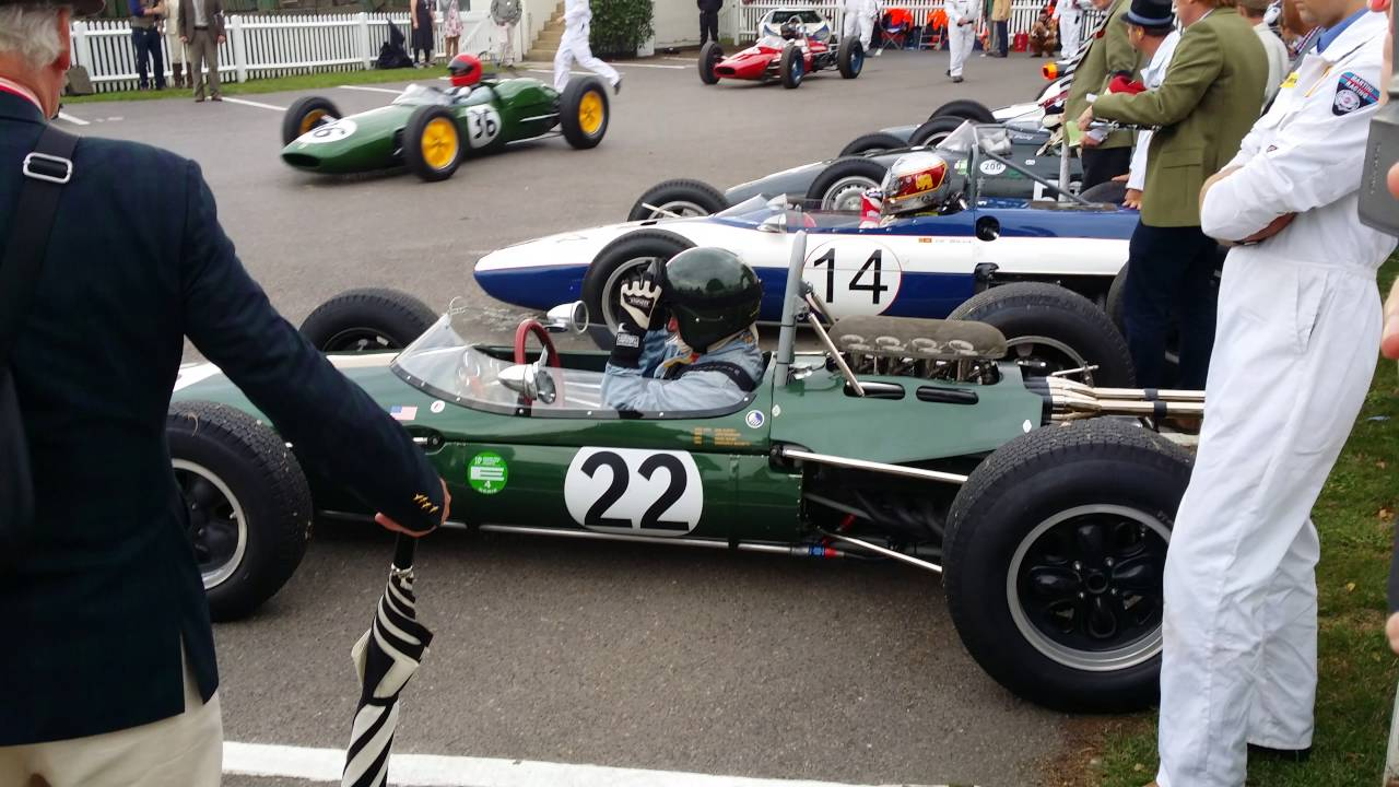 Vintage Formula 1 Cars At Goodwood