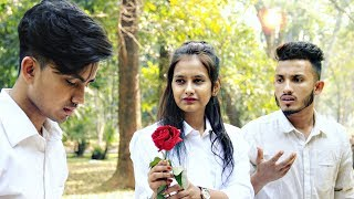 Leja Leja Re   School Love Story   Dhvani Bhanushali   Farhan Rahman   Cute Love Story