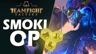 COMBO ZE SMOKAMI JEST OP - TEAMFIGHT TACTICS