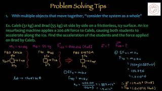 SPH4U/Grade 12 Physics: 2.3 Applications of Newton's Laws