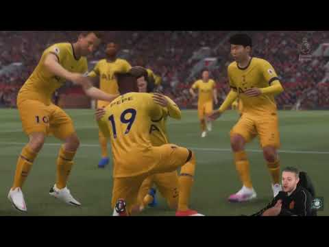 MARK GOLDBRIDGE FA CUP PENALTY SHOOTOUT DRAMA | FIFA 21 CAREER MODE