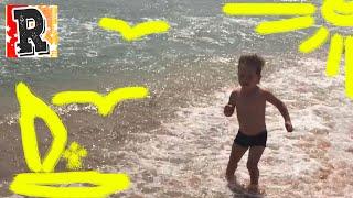 Черное море, пляж, волны на море. Солнце, ветер. Детские игры на природе.(Черное море, пляж, волны на море. Солнце, ветер. Детские игры на природе. http://join.air.io/rostiktv - Монетизация вашего..., 2016-05-30T20:38:46.000Z)