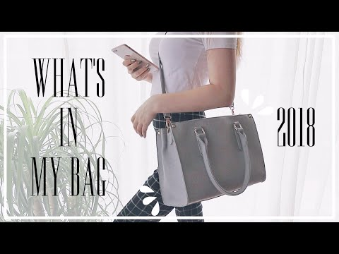 : What's In My Bag 2018高校生のバッグの中身紹介 :