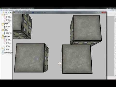 Game Maker - Top Down 3D Walkthrough