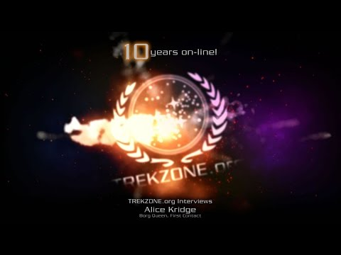 TREKZONE.org Interviews Alice Krige [Celebrating 10 YEARS!]