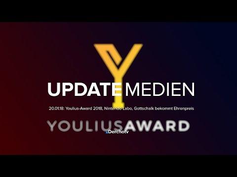 UPDATE MEDIEN – 20.01.18: Youlius-Award 2018, Nintendo Labo, Gottschalk bekommt Ehrenpreis