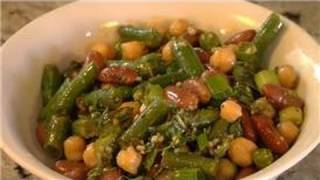 Veggie Salads : Chick Peas Red Kidney Salad