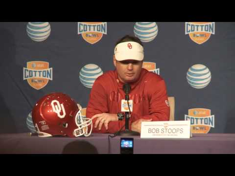 Head Coach Bob Stoops Post Game News Conference