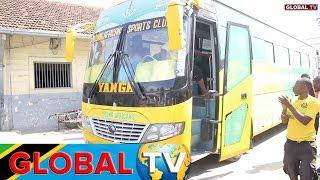 Yanga Ilivyozomewa Baada ya Kuwasili Bandarini Kutoka Zanzibar