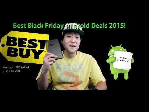 Black Friday Android Deals 2015! [Best Buy/Target/Amazon/HTC/Huawei]
