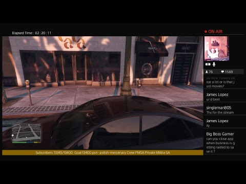 GTA Late Stream 10/14/17 Helping Subs