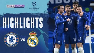 Chelsea 2-0 Real Madrid   Champions League 20/21 Match Highlights