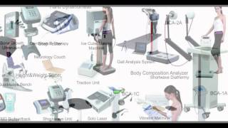Physiotherapy equipment & machines
