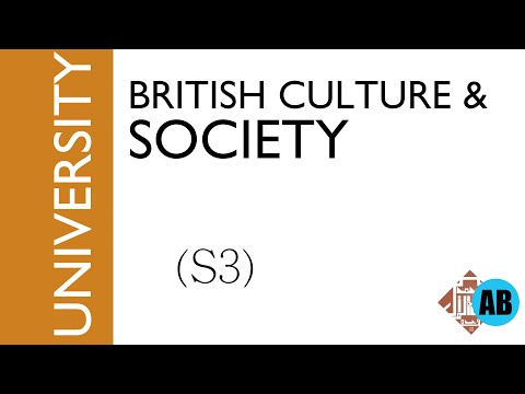 #8 British culture and society (S3) - part1 -Introducing the British