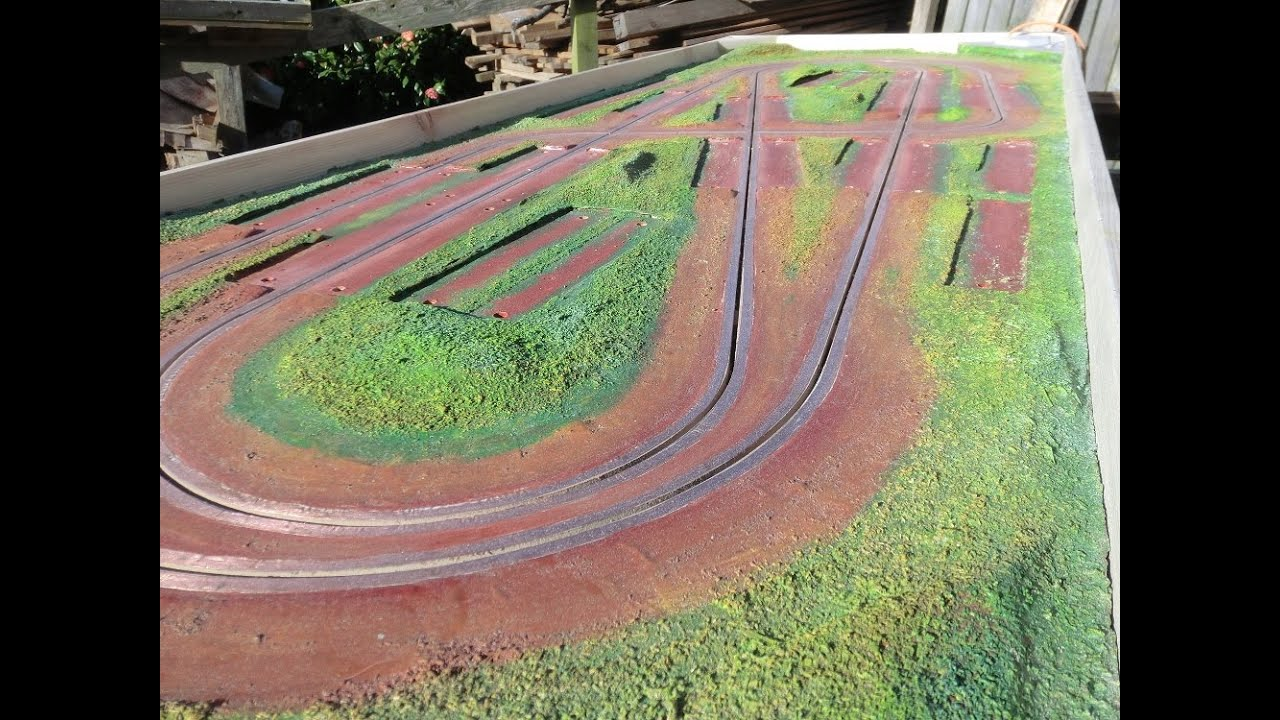 Scratch building a slot car track youtube for House of tracks