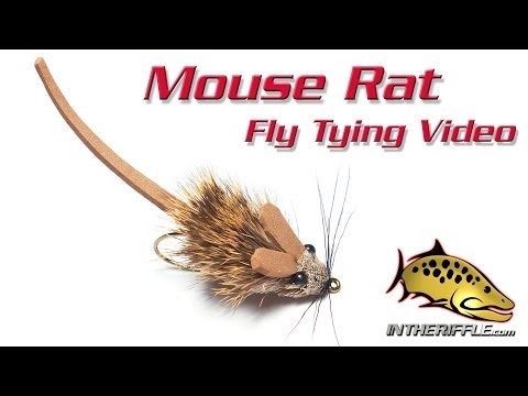 Mouse Rat Fly Tying Video Instructions - Whitlock's Deer Hair Mouserat