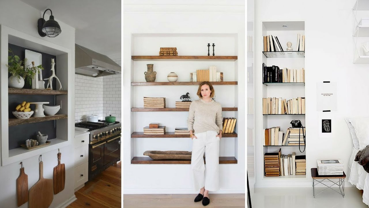 Living Room Wall Storage.  5 Creative Wall Storage Ideas For Your Small Living Room YouTube