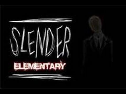 Jeux qui fait peur Ep.4 slender Elementary LE PLUS ÉPEURANT! - YouTube