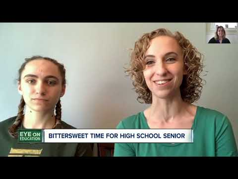 High school seniors sad to be missing the final few months of classes, sports & friends