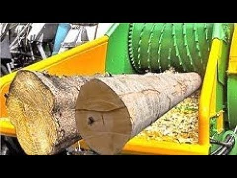 Top 5 Wood Chipper Machines Modern Technology, Extreme Fast Chipper Big Tree Easy