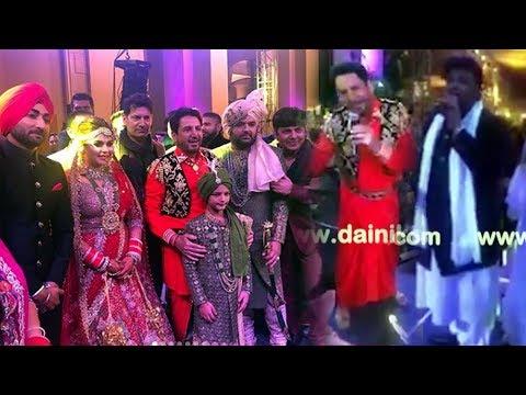 Kapil Sharma Wedding Dance : Gurdas Maan , Ranjit Bawa , Malkit Singh , Ghuggi , Wadali , Jassi