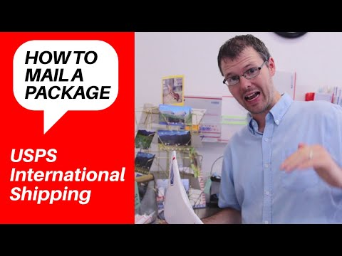 How To Mail And Ship A Package Internationally With The U.S. Post Office | English On The Street