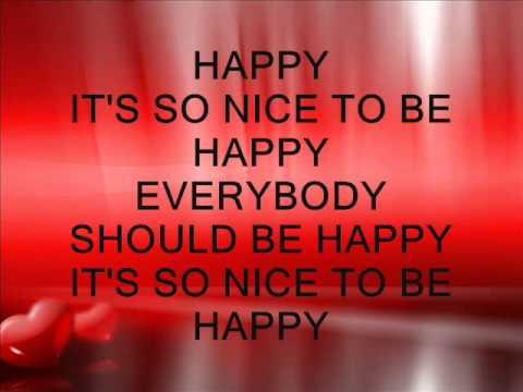 Happy Lyrics Video-Marielle Javier