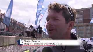 Etape Dunkerque-Breskens et Grand prix Breskens du Tour de France à la Voile 2013