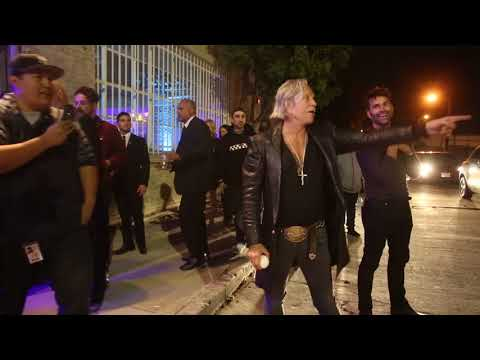 Mickey Rourke Plays Baseball Outside Mr. Chow's 50th Anniversary Party